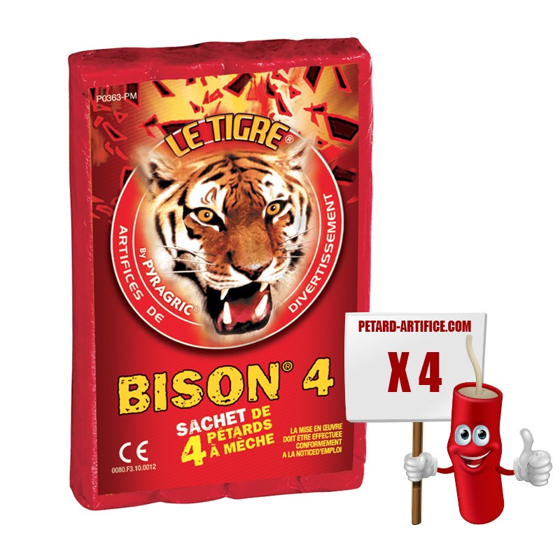 Pétards - Le Tigre Bison 4