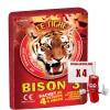 Le tigre Bison 3, le paquet de 4 pétards à mèches à prix discount