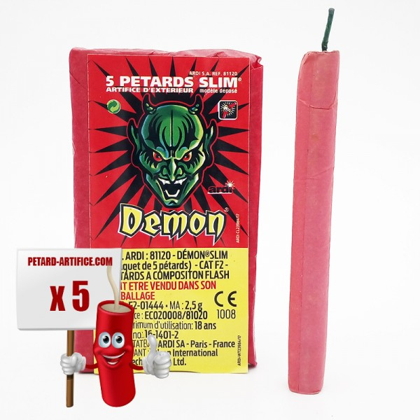 Pétards DEMON SLIM