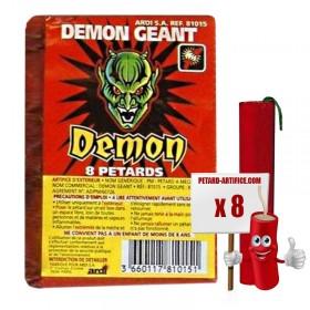 Pétards - Demon Géant