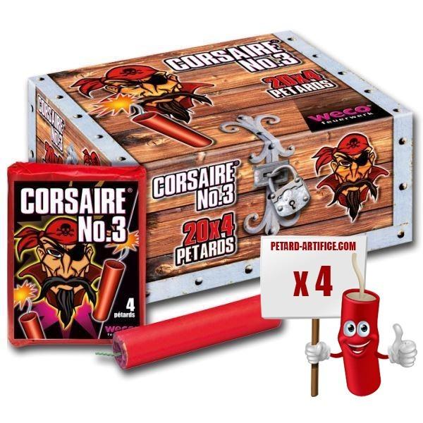 Pétards - Corsaire 3
