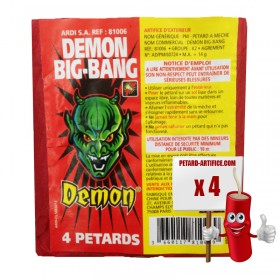 Petardo Démon Big Bang
