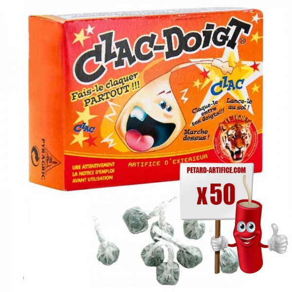 firecrackers Clac Doigt