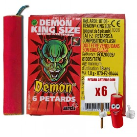 Pétards - Demon King Size