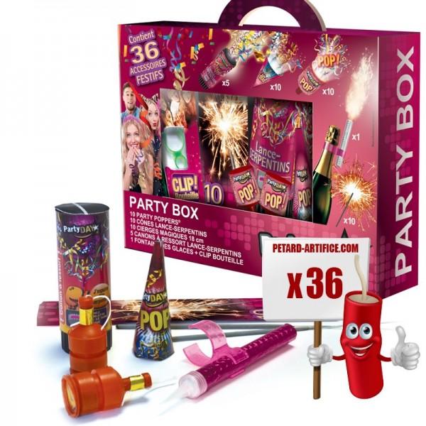 Party Box - 36 Pièces