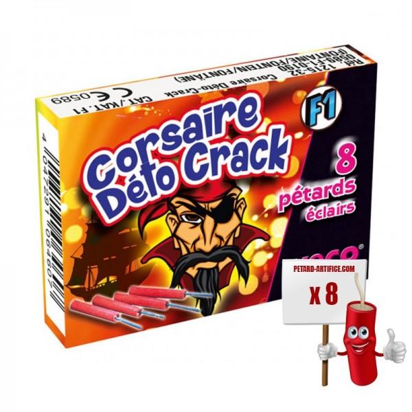 Pétards Eclairs Deto Crack