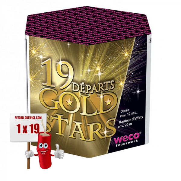 Compact Gold Stars