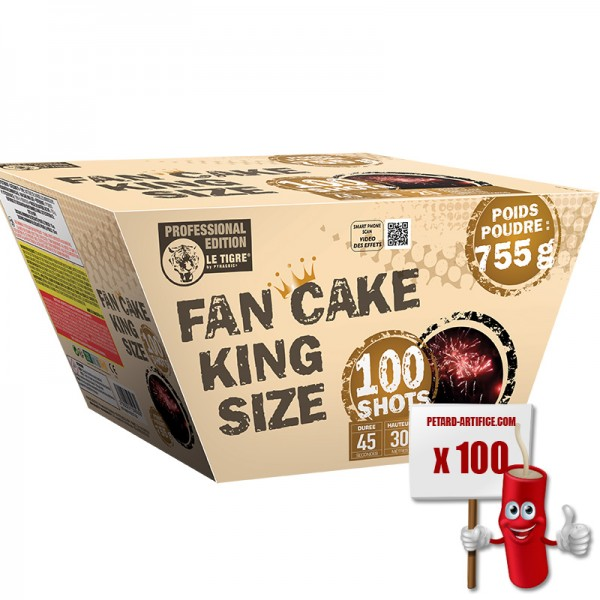 Fan Cake King Size