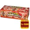 Le tigre 1500 coups, le paquet d'une rafale de 1500 détonations.